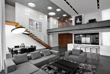 בית בתל אביב, במסגרת שיתוף ועבודה עם האדריכלית, פרויקט עבודת גמר של אמה טרקסין.